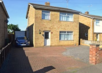Thumbnail 3 bed detached house for sale in Drybread Road, Peterborough