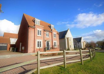 Thumbnail 5 bedroom detached house for sale in Beaney View, Manor Brook, Swindon