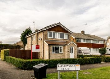 Thumbnail 4 bed detached house for sale in Beechwood Glade, York, North Yorkshire, England