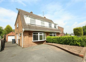 Thumbnail 3 bed semi-detached house for sale in Dorset Drive, Biddulph, Stoke-On-Trent