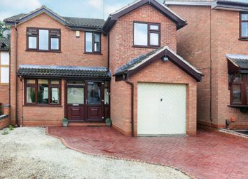 Thumbnail 4 bed detached house for sale in Chaffinch Drive, Kidderminster