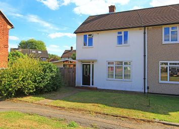 Thumbnail 2 bed semi-detached house for sale in Amersham Close, Romford, London