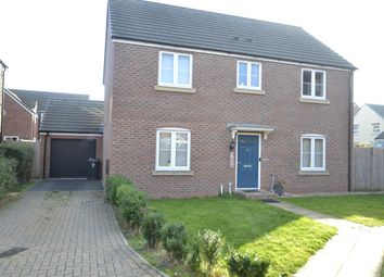 Thumbnail 4 bed detached house for sale in Manston Way, Kingsway, Quedgeley, Gloucester