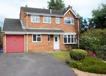 Thumbnail 4 bedroom detached house for sale in Pilsdon Drive, Canford Heath, Poole