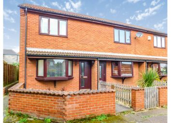 Thumbnail 2 bed end terrace house for sale in Prospect Court, Scotter