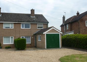 Thumbnail 3 bed semi-detached house to rent in Manor Lane, Langham, Oakham