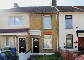 Thumbnail 3 bedroom terraced house for sale in Harold Road, Sittingbourne, Kent