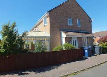Thumbnail 1 bed end terrace house for sale in Dart Close, St. Ives, Huntingdon