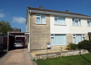 Thumbnail 3 bed semi-detached house for sale in Westover, Frome