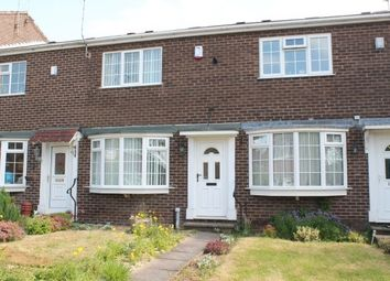 Thumbnail 2 bed terraced house to rent in Wymondham Close, Arnold