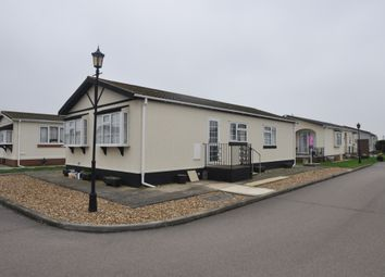Thumbnail 2 bed mobile/park home for sale in Kings Park, Canvey Island