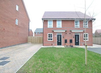 Thumbnail 2 bed semi-detached house for sale in Texan Close, Warton, Preston, Lancashire