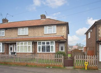 Thumbnail 2 bedroom end terrace house for sale in Chesford Road, Luton