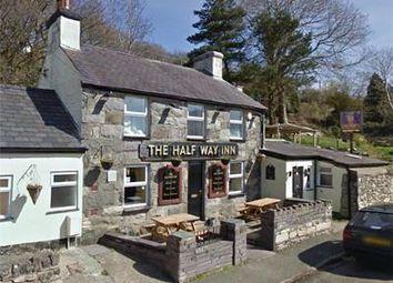 Thumbnail Restaurant/cafe for sale in Halfway Inn, Hyfrydle Road, Talysam, Caemarfon, Gwynedd