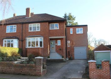 Thumbnail 4 bed semi-detached house for sale in Woodcrest Road, Darlington