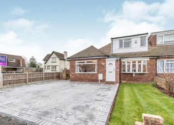 Thumbnail 3 bed semi-detached bungalow for sale in Lewis Road, Gravesend