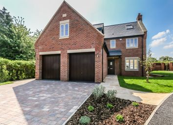 Thumbnail 4 bed detached house for sale in Wellington Road, Raunds, Wellingborough