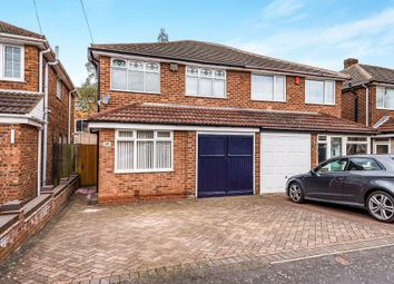 Thumbnail 3 bedroom semi-detached house for sale in Leacroft Grove, West Bromwich