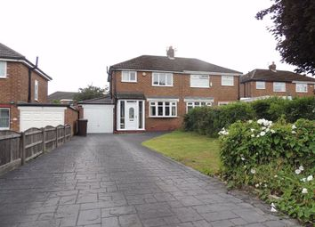 Thumbnail 3 bed semi-detached house for sale in Warren Close, Denton, Manchester