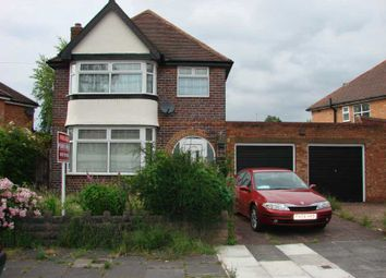 Thumbnail 3 bed detached house to rent in Stonor Road, Hall Green, Birmingham.
