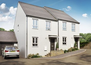 "Thumbnail 3 bed semi-detached house for sale in ""Finchley"" at Kimlers Way, St. Martin, Looe"