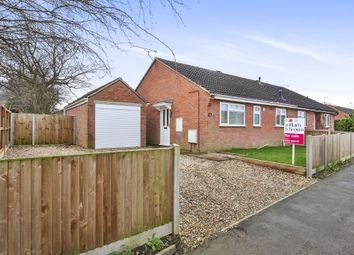 Thumbnail 2 bedroom semi-detached bungalow for sale in Hillcrest Avenue, Toftwood, Dereham