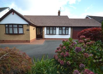 Thumbnail 3 bed detached bungalow for sale in Rossall Avenue, Newcastle-Under-Lyme