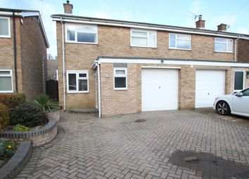 Thumbnail 3 bed semi-detached house for sale in Epsom Drive, Ipswich