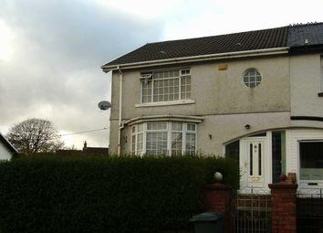 Thumbnail 3 bed semi-detached house for sale in Meyrick Villas, Merthyr Tydfil