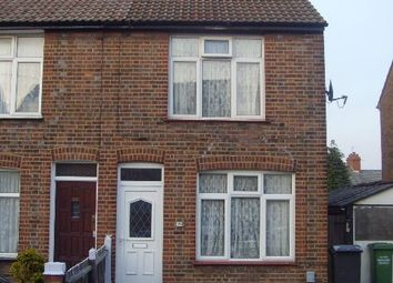 Thumbnail 1 bed terraced house to rent in Sherwood Road, Luton