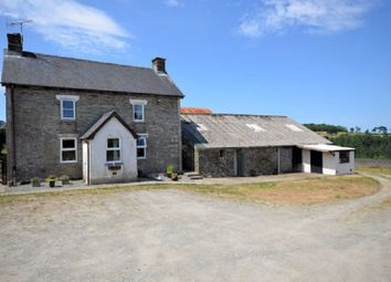 Thumbnail Land for sale in The Old Farmhouse, Penrallt Goch, Newchapel, Boncath, Pembrokeshire.