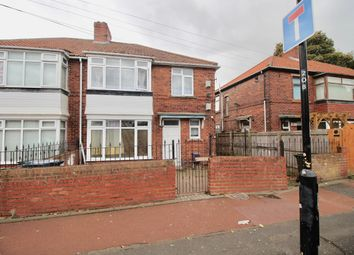 Thumbnail 4 bed semi-detached house for sale in Oakfield Gardens, Newcastle Upon Tyne