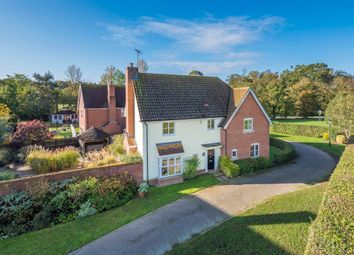 Thumbnail 4 bed detached house for sale in Lackford, Bury St. Edmunds, Suffolk