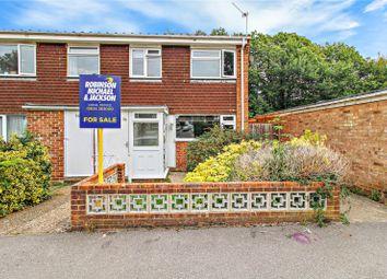 Thumbnail 3 bed end terrace house for sale in Wildman Close, Parkwood, Rainham, Kent