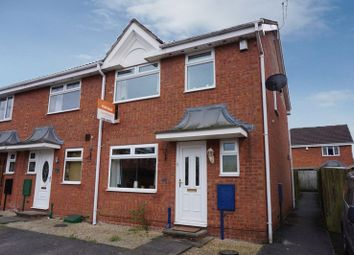 Thumbnail 3 bedroom town house for sale in Aldersea Close, Burslem, Stoke-On-Trent