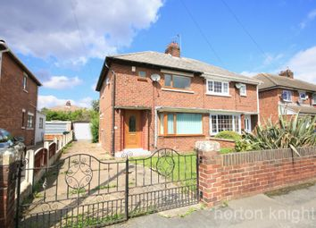 Thumbnail 2 bedroom semi-detached house to rent in Churchill Avenue, York Road, Doncaster