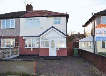 Thumbnail 3 bed semi-detached house for sale in Dover Road, Maghull, Liverpool