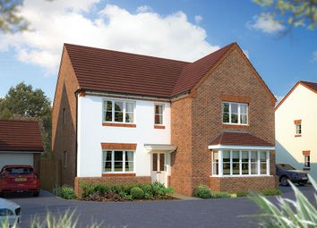 "Thumbnail 5 bed detached house for sale in ""The Arundel"" at Beancroft Road, Marston Moretaine, Bedford"