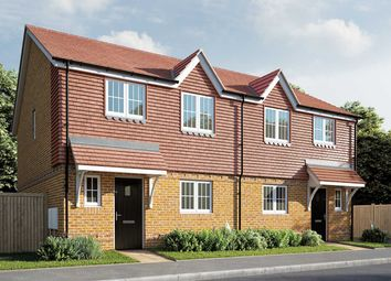 "Thumbnail 3 bed semi-detached house for sale in ""The Elmslie"" at Berengrave Lane, Rainham, Gillingham"