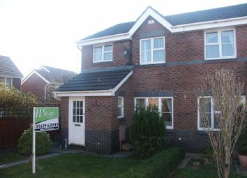 Thumbnail 3 bed semi-detached house to rent in 36 Fernlea Park, Bryncoch, Neath .