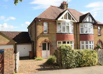 Thumbnail 3 bed semi-detached house for sale in Broadview Avenue, Rainham, Gillingham