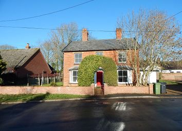 Thumbnail 3 bed detached house for sale in The Old School House, Station Road, Pulham St. Mary, Diss, Norfolk