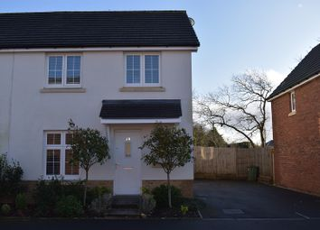 Thumbnail 3 bed semi-detached house for sale in Maes Lewis Morris, Llangunnor, Carmarthen, Carmarthenshire.