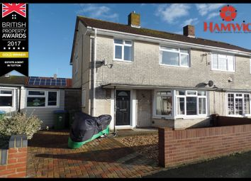 Thumbnail 3 bed semi-detached house for sale in Teme Crescent, Southampton