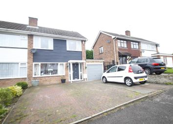 Thumbnail 3 bed semi-detached house for sale in Hawthorn Rise, Newhall, Swadlincote