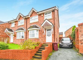 Thumbnail 3 bed semi-detached house to rent in Honeybourne Drive, Whiston, Prescot