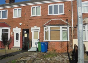 Thumbnail 3 bed terraced house to rent in Seaton Road, Hessle
