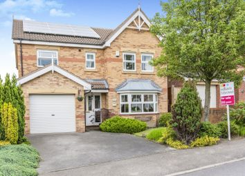 Thumbnail 4 bed detached house for sale in Howell Gardens, Thurnscoe, Rotherham