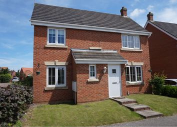 Thumbnail 4 bed detached house for sale in Foxglove Road, Desborough