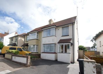 Thumbnail 3 bed semi-detached house for sale in Butland Avenue, Paignton
